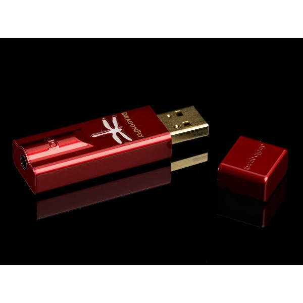 Audioquest - [DRAGONFLY-RD] Convertitore/amplificatore cuffie DAC-USB Dragonfly Red