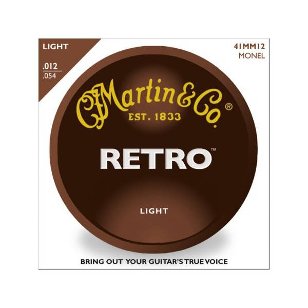 Martin - [MM12] SET CORDE RETRO LIGHT