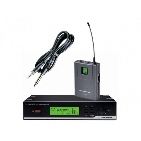 Sennheiser - [XSW 72-E] KIT TRASMETTITORE/RICEVITOREPER VOCE UHF + HEADSET