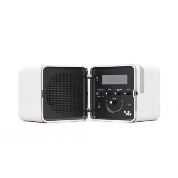 Brionvega - [TS522D] Radio Cubo Color Bianco