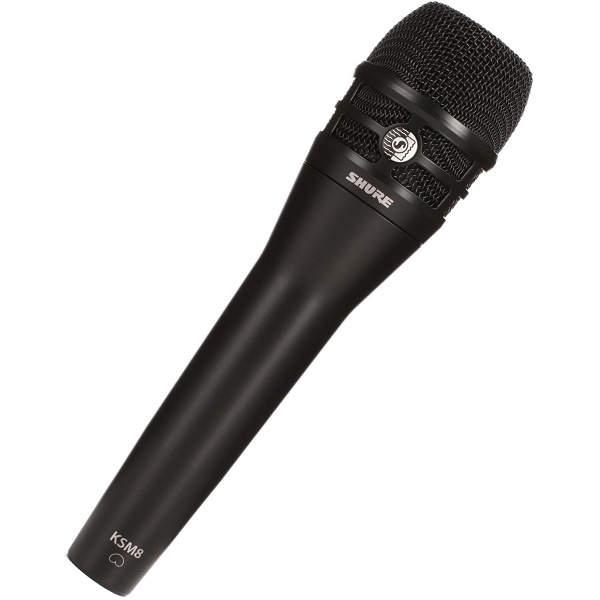 Shure - ksm - KSM8 Dualdyne Black - Microfono a doppia bobina, nero