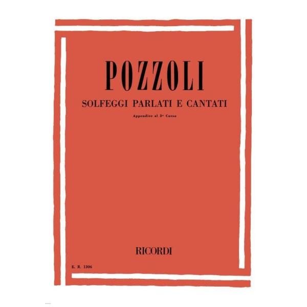 Ricordi - [ER1306] Pozzoli - Solfeggi Parlati e Cantati, Append. 3° corso (9790041813066)