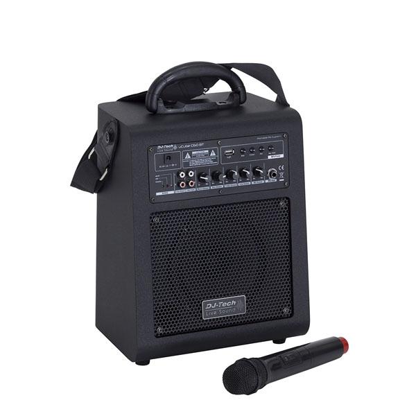 DJ-Tech - [UCUBE C60BT] Sistema di amplificazione portatile 60W