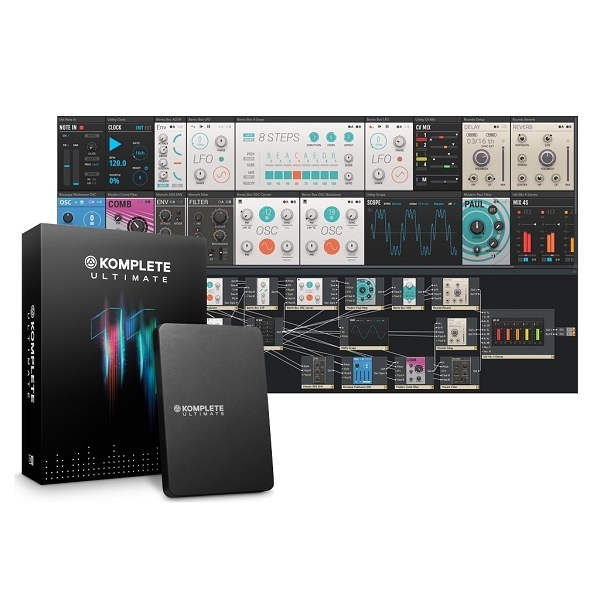 Native Instruments - Komplete 11 Ultimate Suite software produzione musicale