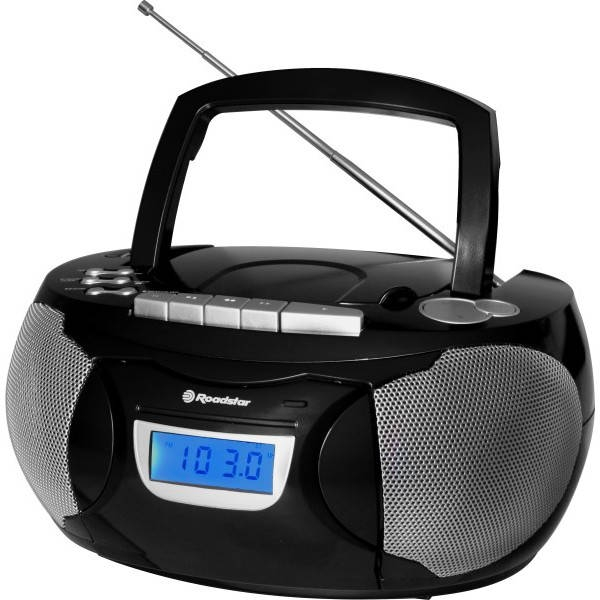 Roadstar - RCR3650UMPBK - RADIO PORTATILE CASSETTA/CD/MP3/USB