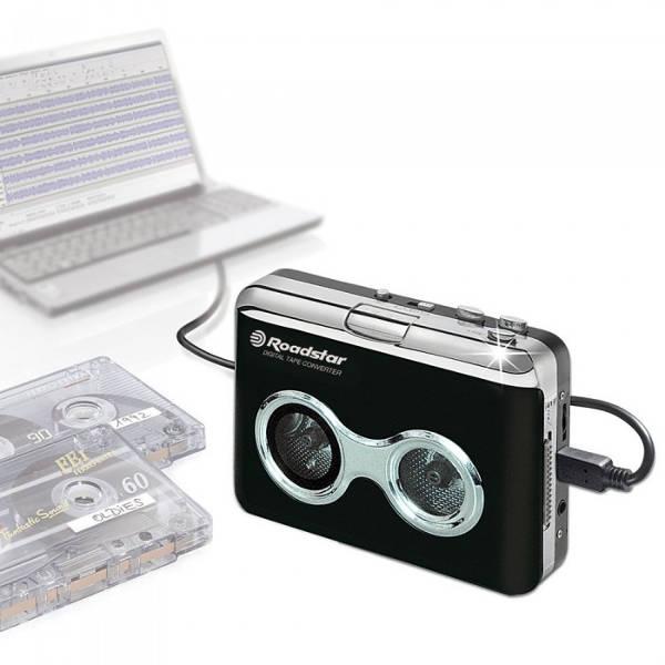 Roadstar - PST100ENC - LETTORE A CASSETTA / CONVERTITORE PRESA USB