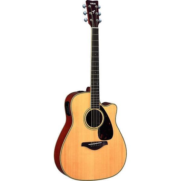 Yamaha - FG - FGX720SCII Chitarra acustica elettrificata, colore NATURAL