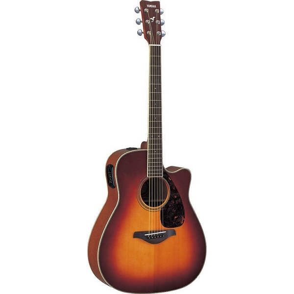 Yamaha - FG - FGX720SCII Chitarra acustica elettrificata, SUNBURNST