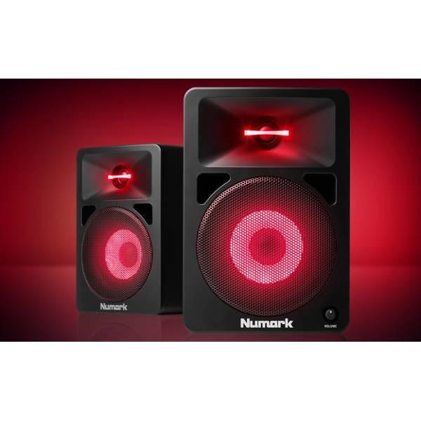 Numark - NWAVE580L - Diffusori /  Monitor + luci LED