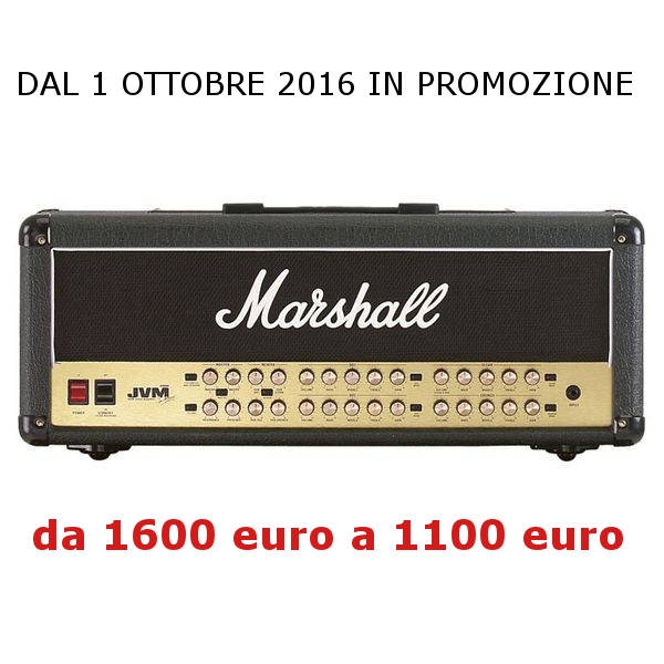 Marshall - JVM410h Testata Valvolare per chitarra 100w