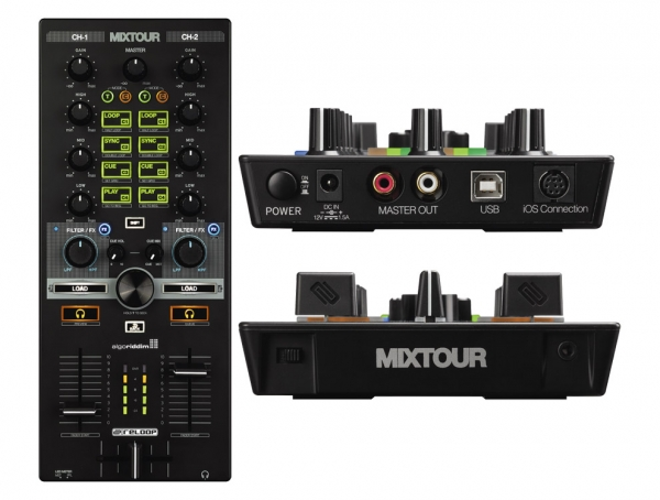 Reloop - MIXTOUR - DJ Controller USB / Interfaccia Audio