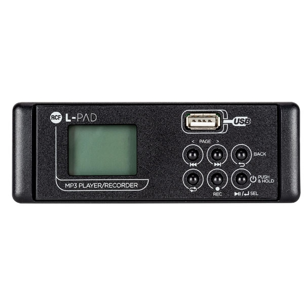 Rcf - LIVEPAD [L-PAD PLAYER-RECORDER CARD MKII] Play/rec MP3 card