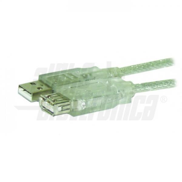 Alpha Elettronica - 95-601 CAVO USB SPINA TIPO A PRESA TIPOA 1,8M