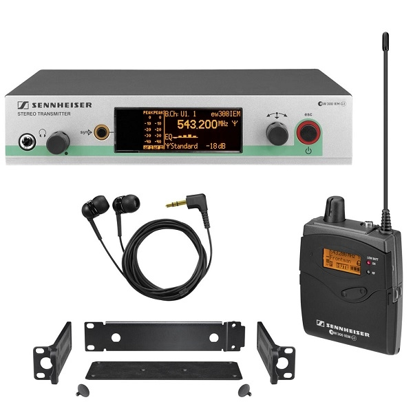 Sennheiser - Ew 300 IEM G3 GX Ear monitor e auricolari Sennheiser