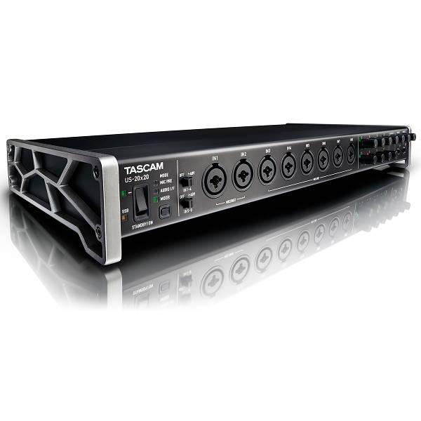 Tascam - US 20X20 - Interfaccia Audio USB 3.0