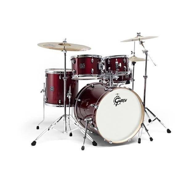 Gretsch - GEX-E605-4-W BATTERIA 5 PZ WINE RED ENERGY