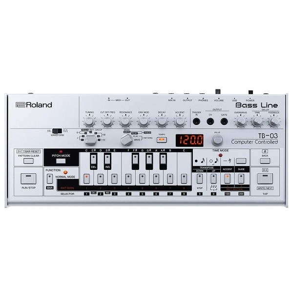 Roland - TR03 serie Boutique Sintetizzatore Bass Line & Sequencer [Lim. Ed]
