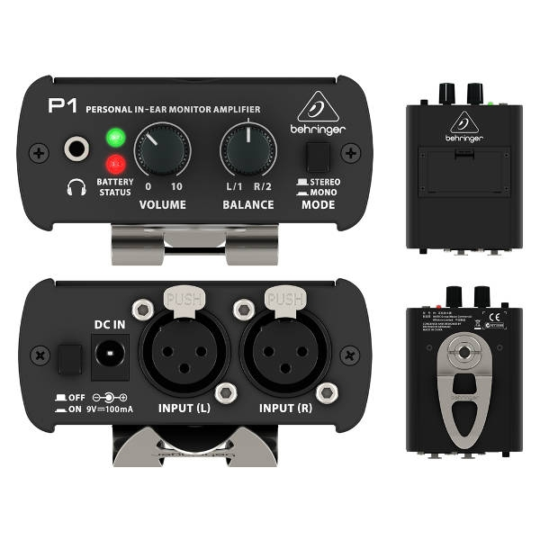 Behringer - POWERPLAY P1 - Amplificatore per Cuffie