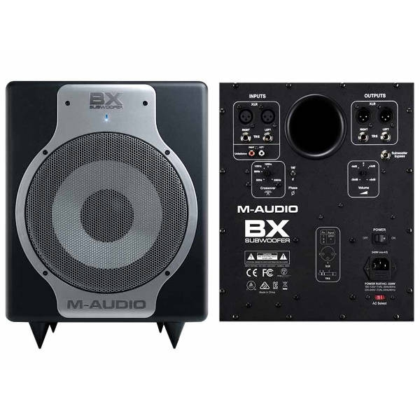 m audio bx subwoofer 240w 20 200hz. Black Bedroom Furniture Sets. Home Design Ideas