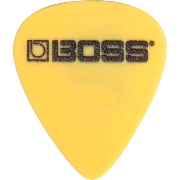 Boss - BPK-12-D73 Confezione da 12 Plettri Yellow Deltex .73 mm Medium