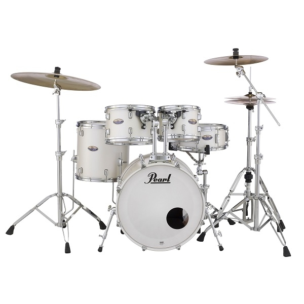 Pearl - DMP905/C229 Decade Batteria acustica completa Maple White Satin