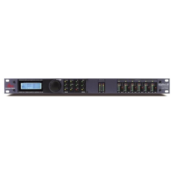 DBX - [DRIVERACK 260] Multiprocessore digitale 2 ingressi 6 uscite