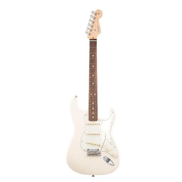Fender - American Standard - American Pro Stratocaster MN Olympic White Chitarra elettrica 0113012705