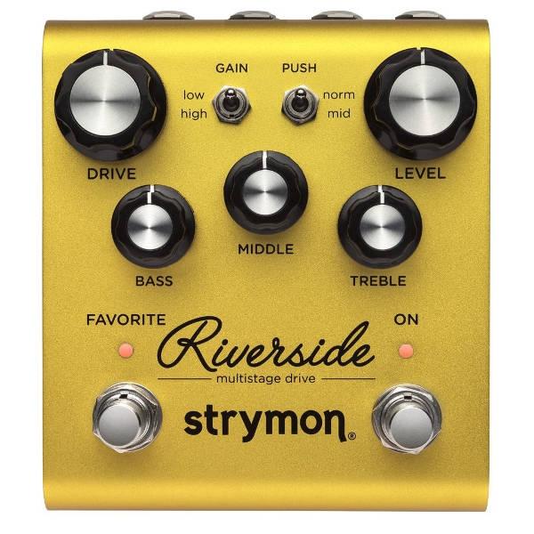 Strymon - RIVERSIDE - Pedale effetto MULTISTAGE DRIVE