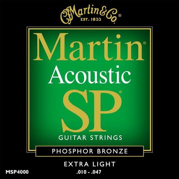 Martin - SP - MSP4000 - SP 92/8 Phosphor Bronze Chitarra Acustica .010-.047