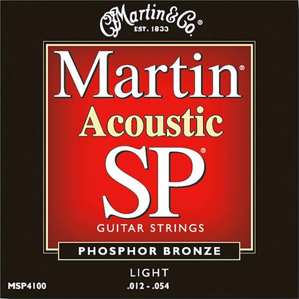 Martin - SP - MSP4100 - SP 92/8 Phosphor Bronze Chitarra Acustica .012-.054