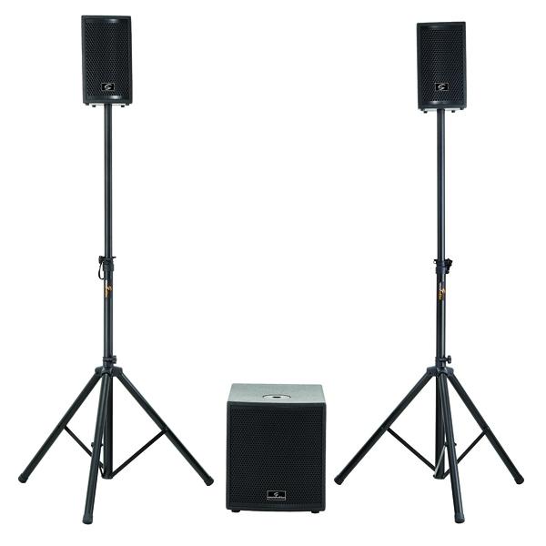 Soundsation - [LIVEMAKER 1221 DSP] Subwoofer + 2 satelliti potenza 1000W