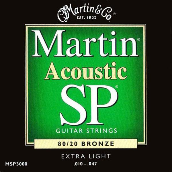 Martin - SP - MSP3000 - SP 80/20 Bronze Chitarra Acustica .010-.047