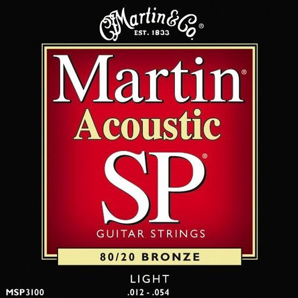 Martin - SP - MSP3100 - SP 80/20 Bronze Chitarra Acustica .012-.054