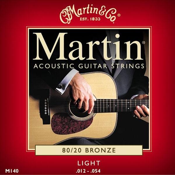 Martin - M140 - 80/20 Bronze Chitarra Acustica .012-.054
