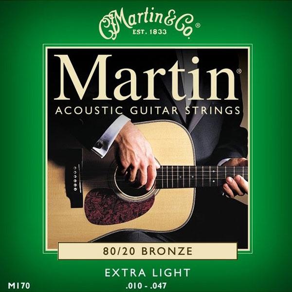 Martin - M170 - 80/20 Bronze Chitarra Acustica .010-.047