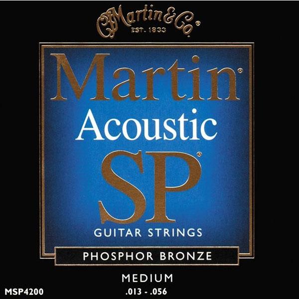 Martin - SP - MSP4200 - SP 92/8 Phosphor Bronze Chitarra Acustica .013-.056