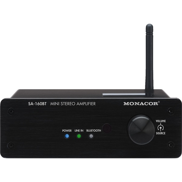 Monacor International - Amplificatore con bluetooth SA-160BT