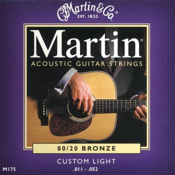 Martin - M175 - 80/20 Bronze Chitarra Acustica .011-.052