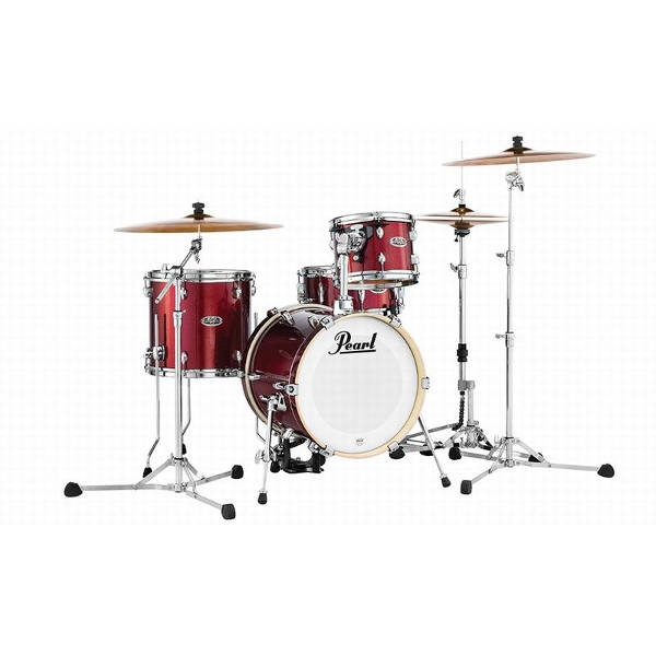 Pearl - Batteria Acustica Midtown Black Cherry - MDT764P/C704