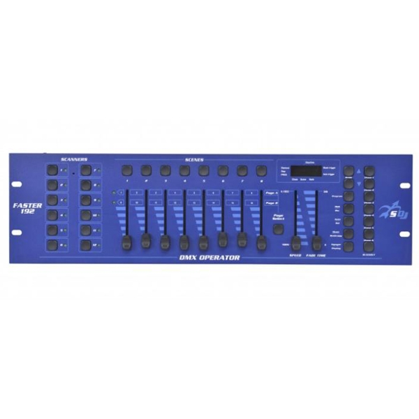 Sagitter - [FASTER192] Controller DMX 192 canali