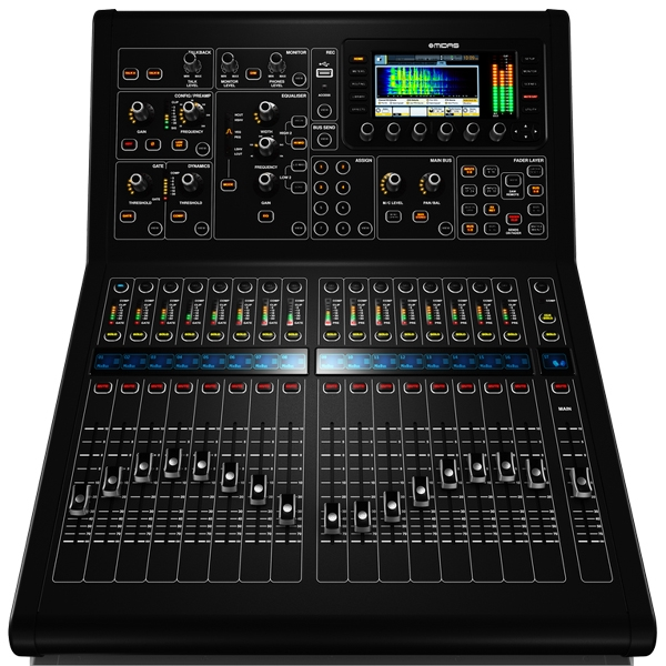 Midas - [M32R] Mixer digitale 24 canali 17 bus con Flight case