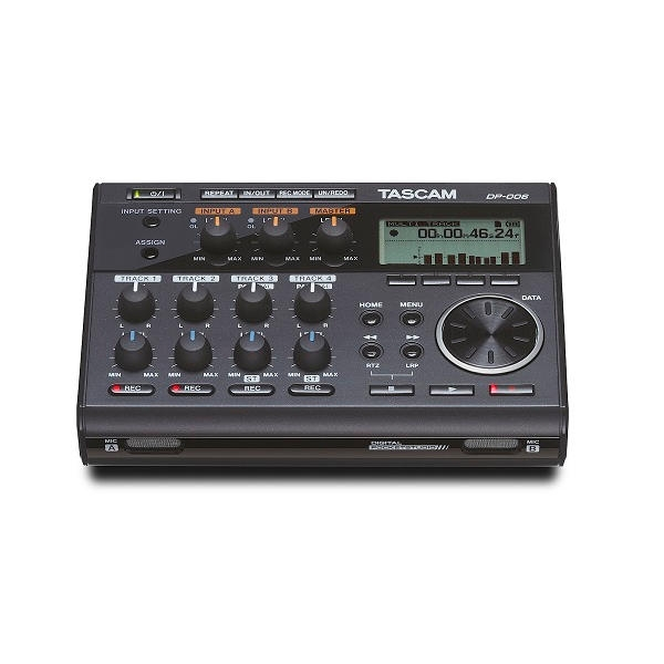 Tascam - DP-006 Pocketstudio digitale a 6 tracce