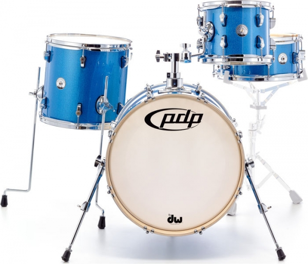 PDP by DW - NEW YORKER SHELLPACK BLUE SPARKLE