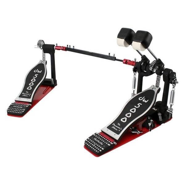 D.W. - 5000 - CP5002AD4 Doppio pedale per batteria con borsa