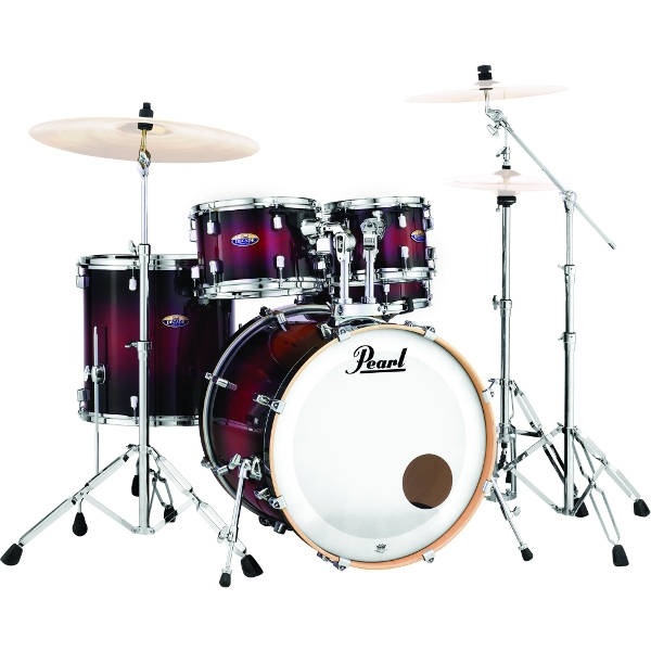 Pearl - DMP905/C261 - BATTERIA PEARL DECADE MAPLE - GLOSS DEEP RED BURST