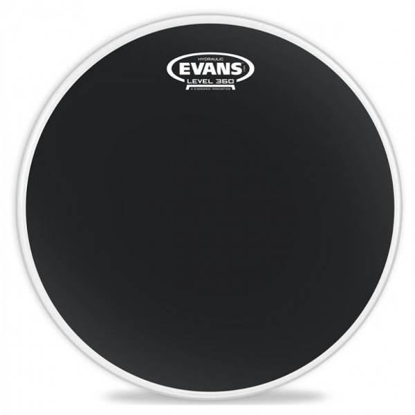 Evans - TT10HBG HYDRAULIC 10 BLACK - Pelle tom
