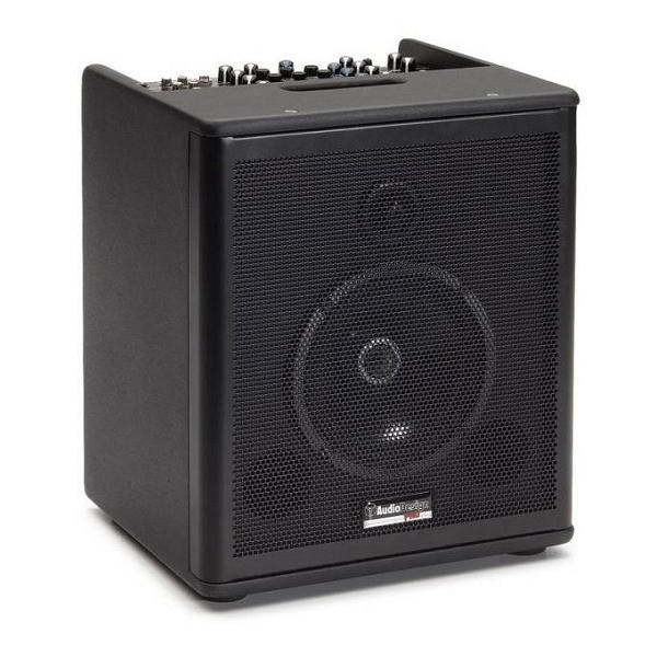 AudioDesign - IMPACT AG6 DIFFUSORE ATTIVO 6,5 PER CHITARRA CON 3 INGRESSI E 16 EFFETTI