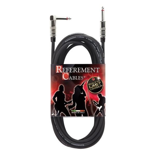 Reference - Referement - GCR2 - Cavo Strumenti - Jack dritto / Jack 90° PROLITE - 3m