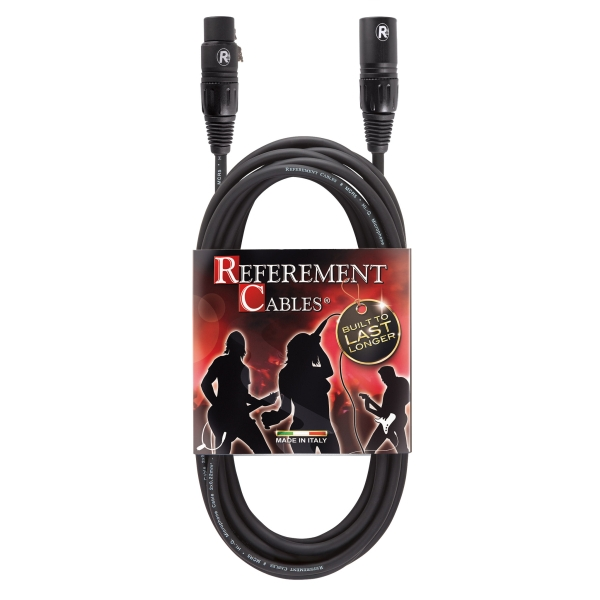 Reference - Referement - MCR5 - Cavo Microfonico Bilanciato -  XLR M / XLR F PROLITE - 1m