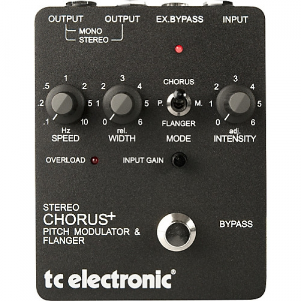 TC Electronic - STEREO CHORUS + TC ELECTRONIC (US)